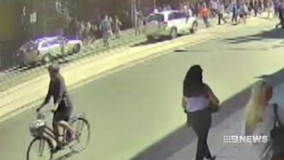 Court played graphic CCTV of Flinders Street crash