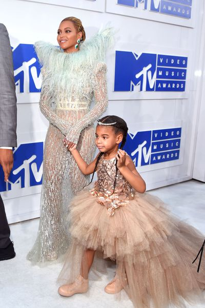 <p>Ivy League: Beyonce and daughter Blue Ivy attend the 2016 MTV Video Music Awards.</p>