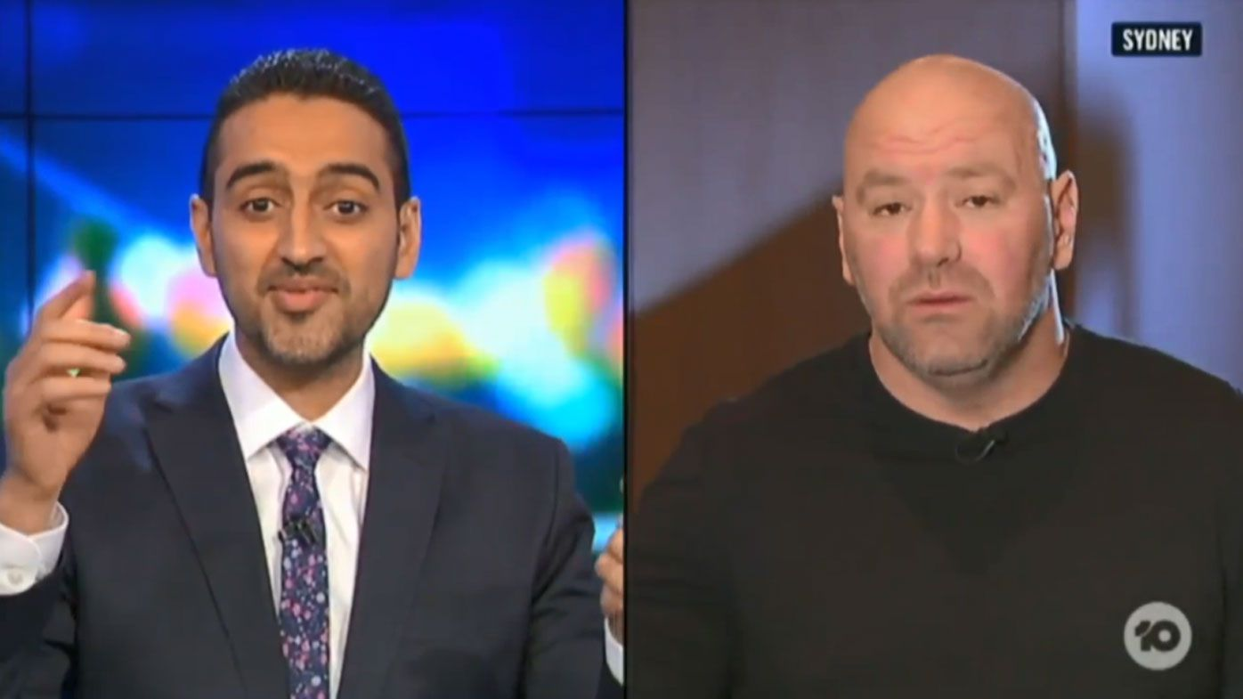 Presenter Calls Out Dana White In Heated Row Over Conor McGregor