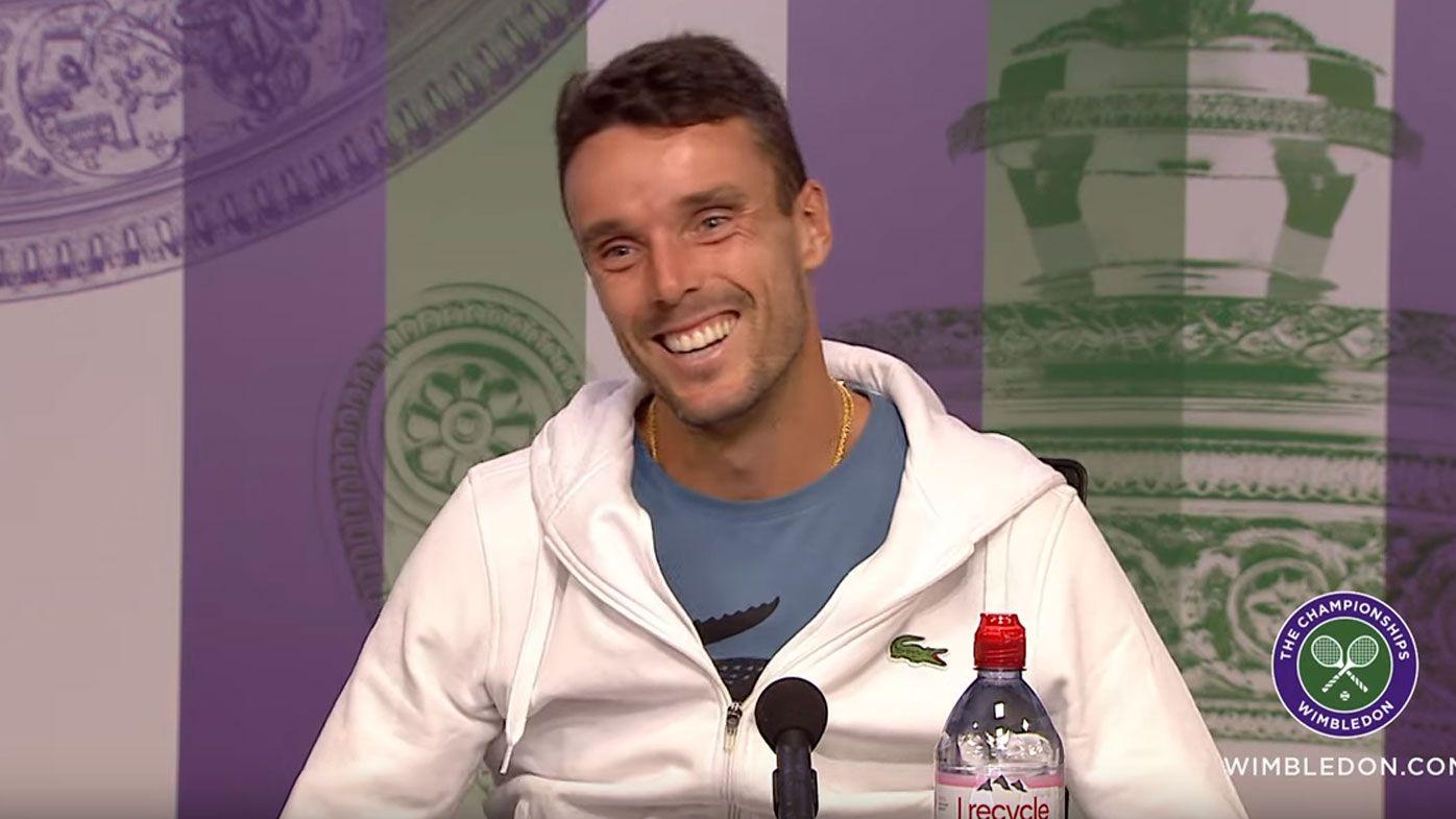 Roberto Bautista Agut cancels bachelor party ahead of Wimbledon semi-final clash