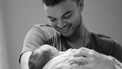 Pics! Guy Sebastian welcomes baby boy