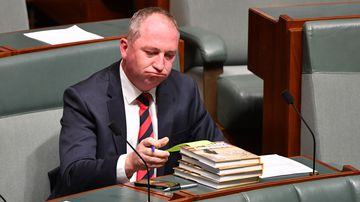 Barnaby Joyce said he won't challenge Michael McCormack.