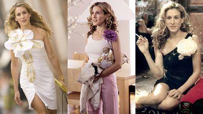 Carrie Bradshaw flowers