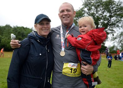 Zara and Mike Tindall.