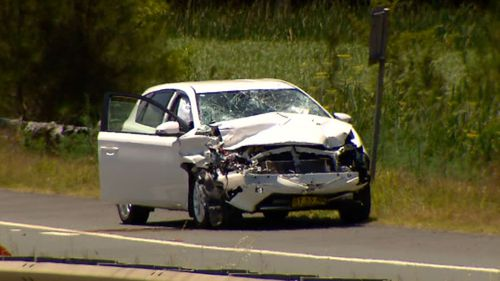 The car was being driven by an 18-year-old man. (9NEWS)