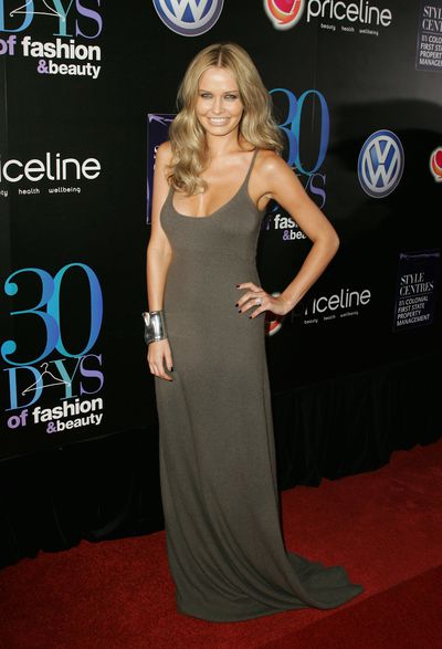 Lara Bingle at ACP Magazine's 30 Days of Fashion & Beauty launch in Sydney, August, 2008