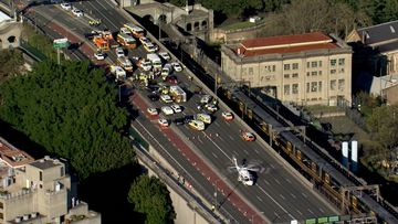 Fatality on Sydney Harbour Bridge 27/08