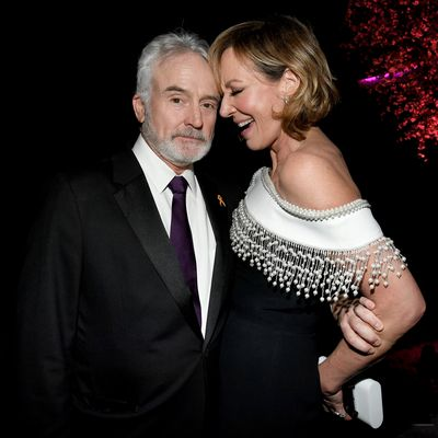 Bradley Whitford and Allison Janney