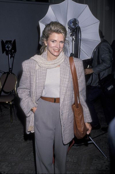 Candice Bergen at the 49th Annual Golden Apple Awards in Beverly Hills, 1989.