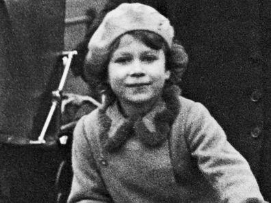 Queen Elizabeth as a little girl