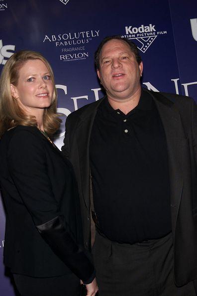 Harvey Weinstein, Serendipity premiere, New York, 2001