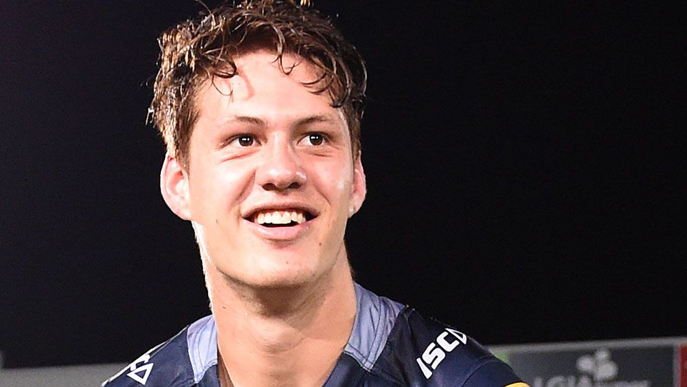 The Knughts are ready to take Kalyn Ponga now if the Cowboys change their minds. (AAP)