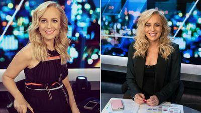 Carrie Bickmore shows off her daughter's newly decorated bedroom