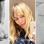 Celebrities show off their tattoos