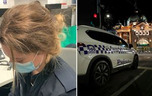 Female police officer's head 'bashed into concrete' by Victoria anti-masker