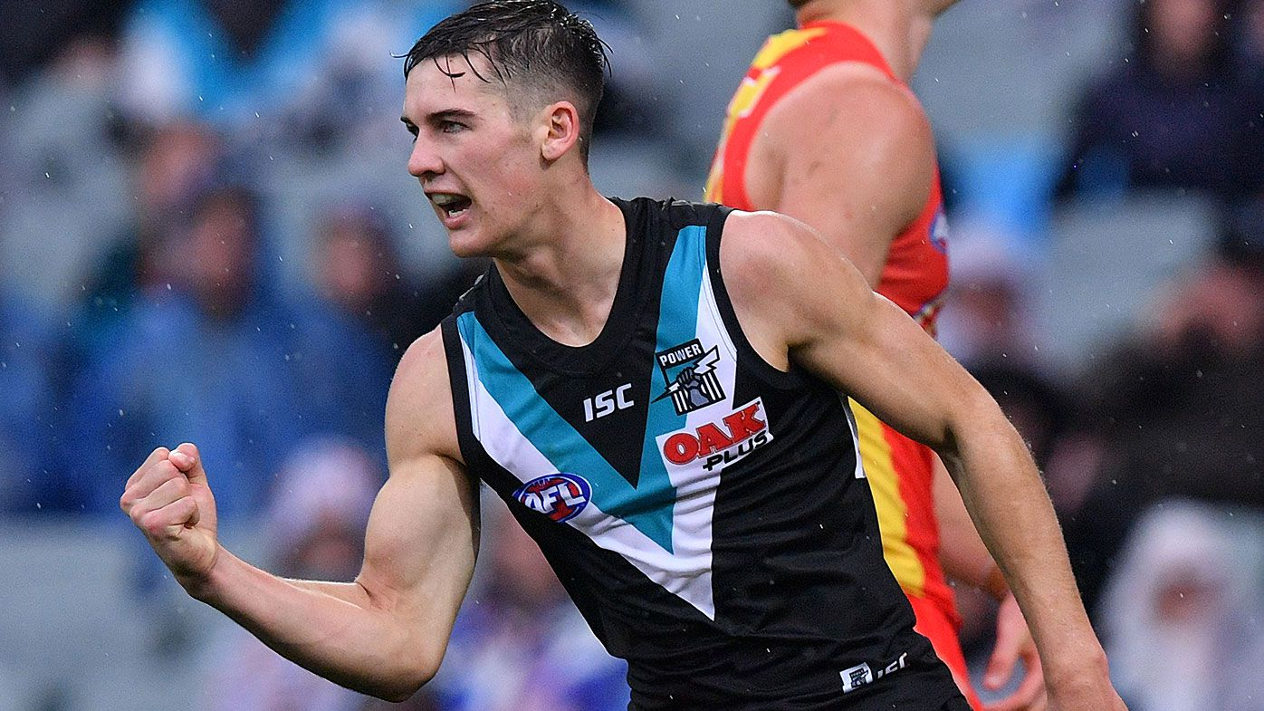 'Generational' Connor Rozee shows his class once again as Port Adelaide outlast Gold Coast challenge