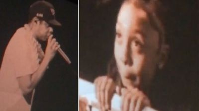 Jay-Z insists grinning nine-year-old can be future US president