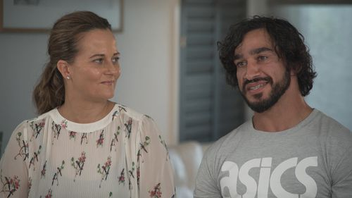 Thurston credits much of his success to his wife Samantha.
