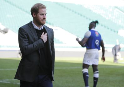 Prince Harry rugby Japan