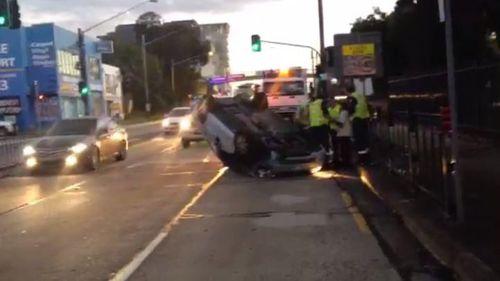 Car crash causing heavy delays along Princes Highway in Sydney's south