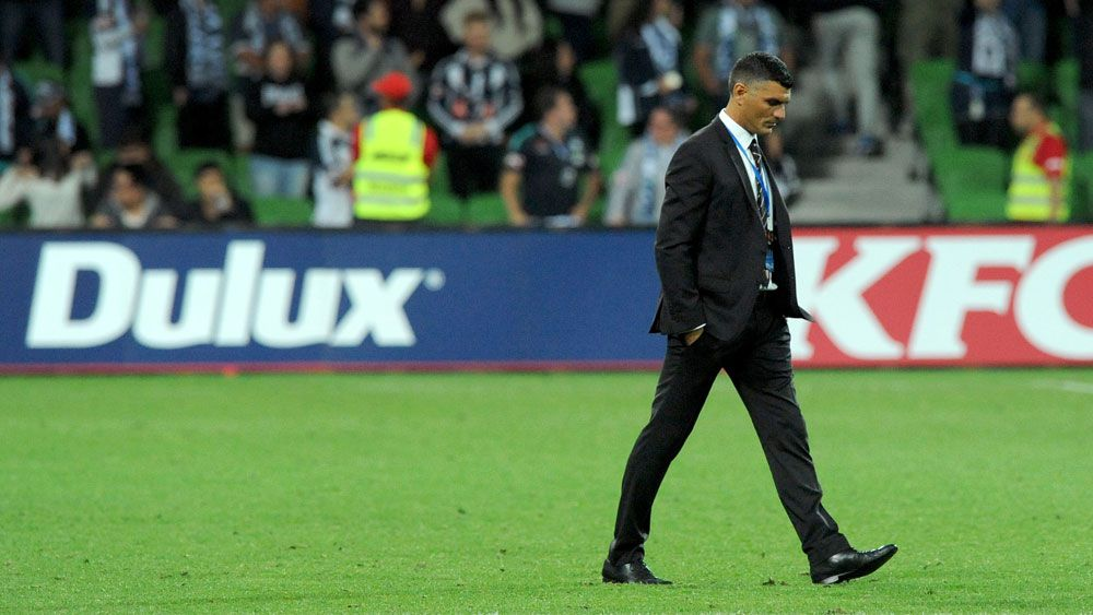 Roar beaten but Aloisi still confident