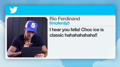 "English soccer player Rio Ferdinand was penalised in 2012 after referring to fellow player Ashley Cole on Twitter as a ""choc-ice"", a racially offensive term."