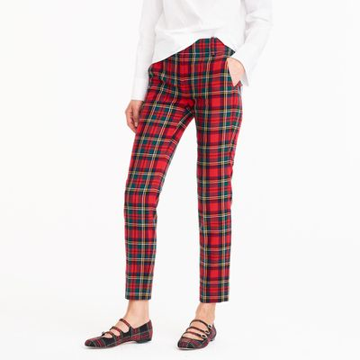 "Take check of your wardrobe<br /> <a href=""https://www.jcrew.com/au/p/womens_special_sizes/petite/pants/petite-cameron-slim-crop-pant-in-tartan-bistretch-wool/H3738?sale=true&color_name=red-black-multi"" target=""_blank""><br /> J Crew Petite Cameron slim crop pant in tartan, approx. $167.96</a>"