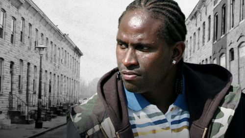 Actor Anwan Glover, pictured in a publicity shot for the TV series, The Wire. Picture: Supplied