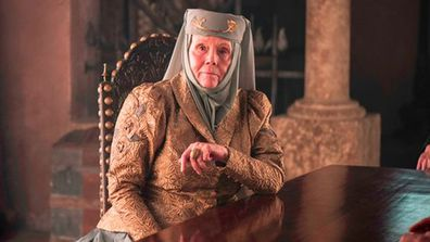 Dame Diana Rigg as Olenna Tyrell in Game Of Thrones