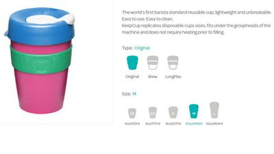 KeepCup (design your own)