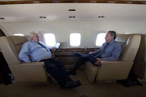 Clive Palmer's media adviser arrested by police