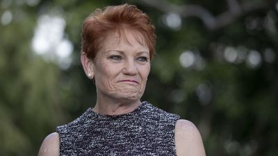 Pauline Hanson backs down on tax cut support