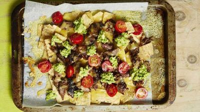 "<a href=""http://kitchen.nine.com.au/2017/02/16/14/27/lamb-nachos"" target=""_top"">Lamb nachos</a> recipe"
