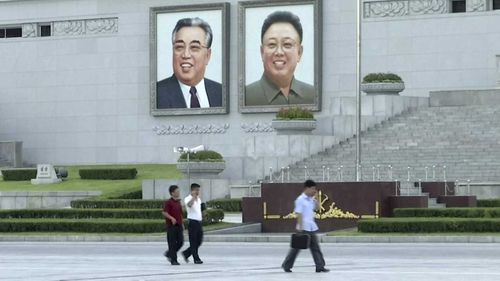 Kim Il-Sung and Kim Jong-un are memorialised in Pyongyang.