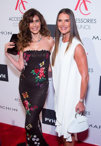 "Veteran supermodels Carol Alt and <a href=""http://style.nine.com.au/2017/06/20/12/22/brooke-shields-calvin-klein"" target=""_blank"">Brooke Shields</a> demonstrated that age is only a number when they reunited on the red carpet for the 2017 Accessories Council Excellence Awards in New York.<br> <br> Carol Alt, 56, has appeared on more than 500 magazine covers including <em>Vogue </em>and <em>Elle </em>and was the face of Diet Pepsi, Cover Girl and Givenchy at the height of her career.<br> <br> Before starring in <em>Blue Lagoon</em> and <em>Suddenly Susan</em>, Shields, 52, was a model sensation for Calvin Klein, appearing on the red carpet in a white dress from the label recently revitalised by Raf Simons.&nbsp;<br> <br> The dynamic duo were on hand for the premier event for US accessories designers.<br> <br> Joseph Altuzarra was honoured with the Designer of the Year Award, Monica Rich Kosann took out the Trailblazer Award, Eva Longoria in Georges Chakra won the Style Ambassador Award and Kendra Scott received the Breakthrough Award.&nbsp;<br> <br> See the top red carpet looks here.<br> <br>"