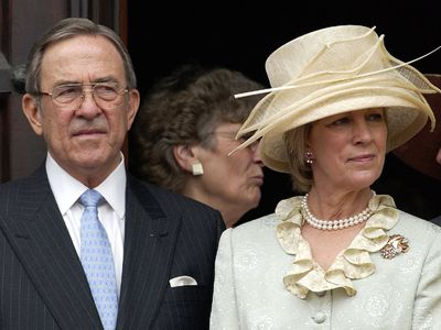 Ex-King Constantine and Queen Anne-Marie, 57 years