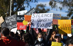 Australians 'foolish' to attend planned protests but thousands expected to march in Black Lives Matter rallies