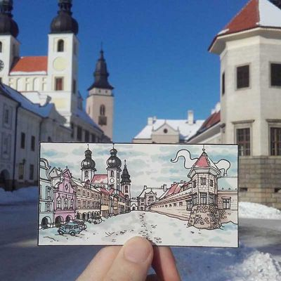 """<strong>Teltsch, Czech Republic<a href=""""http://elsewhere.nine.com.au/destinations/europe/hungary/budapest""""></a></strong>"""