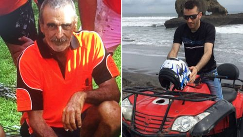 Darwin shooting victims Michael Sisoi (left) and  Hassan Baydoun (right).