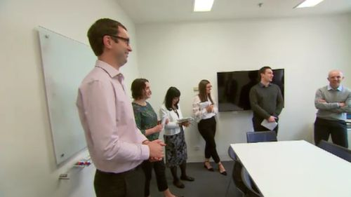 Financial services company Collins SBA is offering staff five hour work. (9NEWS)