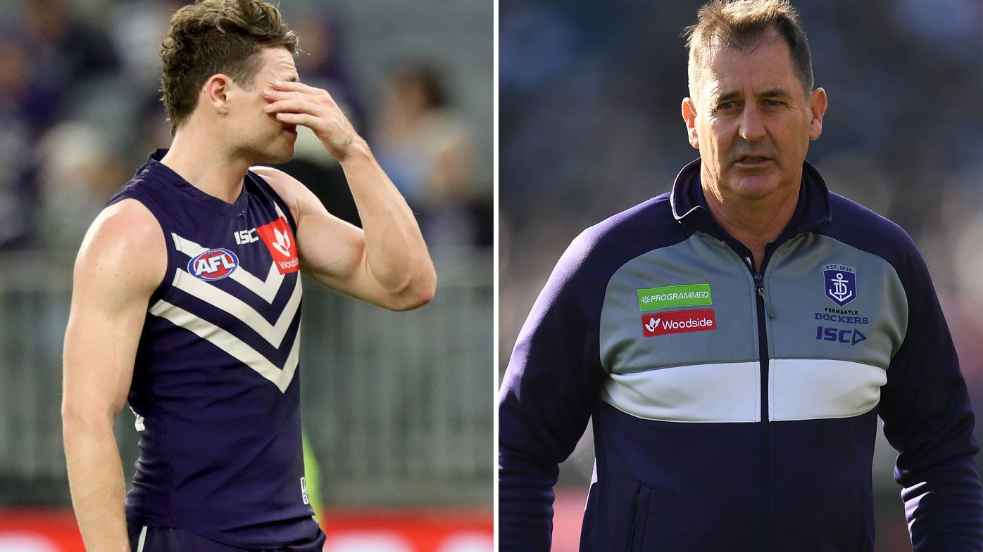 AFL: Lachie Neale says he and Ross Lyon are on good terms