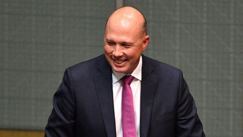Home Affairs Minister Peter Dutton missed a key dinner last night with fellow Coalition members but made it for an NEG meeting. with the PM.