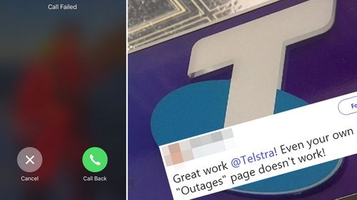 A major outage across Telstra's 4G network today that stopped many of its customers making or receiving calls.
