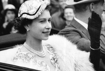 Queen Elizabeth II at Royal Ascot 1954