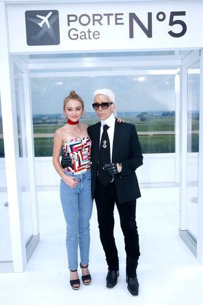 <p>To showcase Chanel's Spring/Summer 2016 collection, creative director Karl Lagerfeld sent fashion soaring, turning Paris' Grand Palais into an airport terminal complete with baggage check, numbered gates, baggage carts and a departures and arrival board.</p><p>Those checking into the front row included Chanel muses Lily-Rose Depp, Vanessa Paradis, Cara Delevingne, Courtney Eaton and more. Click ahead to see airport style at its finest. &nbsp;</p>