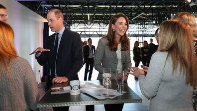 Prince William Kate Middleton attend Shout's Crisis Volunteer celebration event at the Troubadour White City Theatre 2