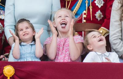 Trooping the Colour, June