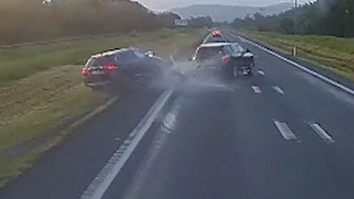 Out of control drivers on the north Queensland roads.