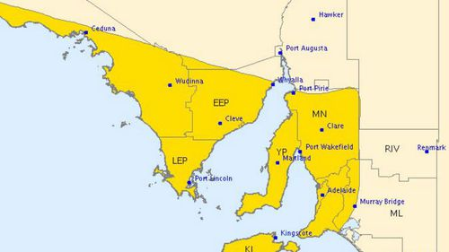 Damaging winds and thunderstorms to hit South Australia