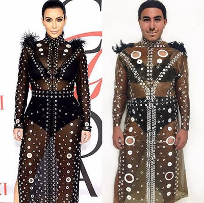 "<p>Mina Gerges is living proof that one man's trash is another's Met Gala gown. The 20-year-old student from Ontario became an Instagram phenomenon after he began recreating the designer ensembles of celebrities from garbage and found items - with glorious results. ""People felt inclined to judge me or make fun of me because I was doing something different,"" said Serges.&nbsp;""I realized from there that I was going to keep doing these pictures to push the agenda on gendered expectations that police us into acting or dressing a certain way in order to fit in.""<br /><br /></p><p>We've rounded up his most impressive looks here.&nbsp;</p>"